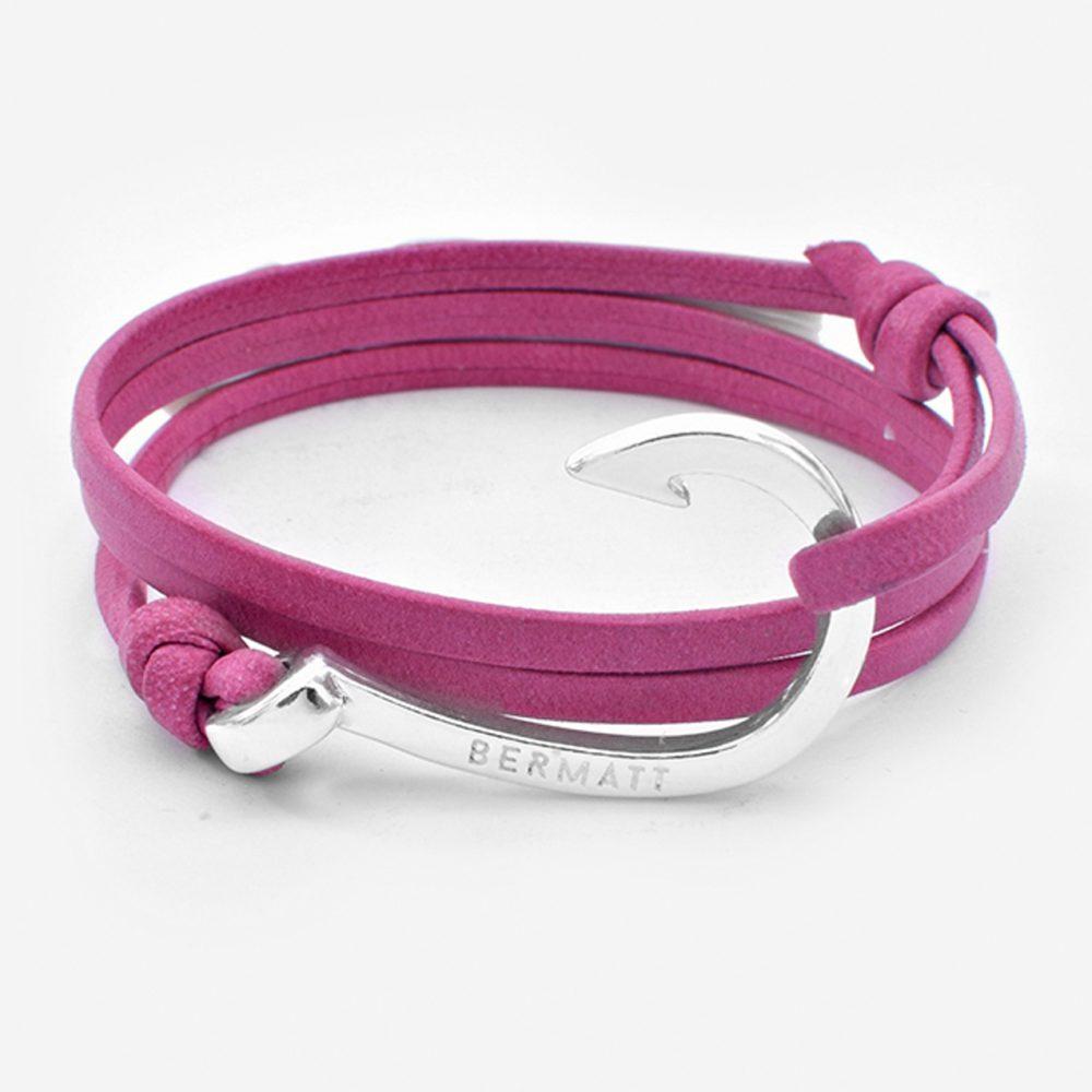 Pulsera anzuelo premium piel pink1 1000x1000