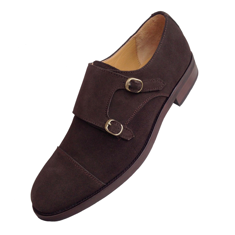 Zapatos de hebilla cosidos
