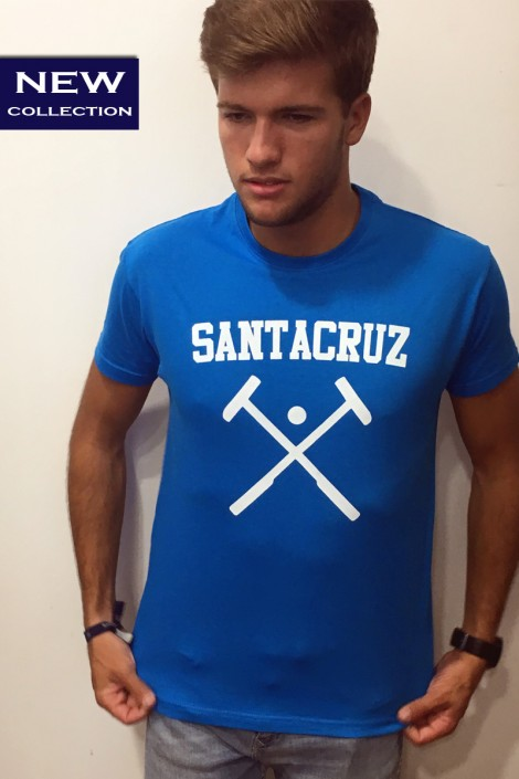 Camiseta logo azul