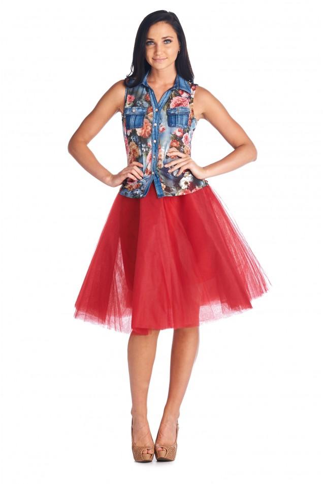 Falda bailarina