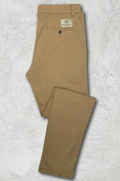Pantalon chino mostaza  1