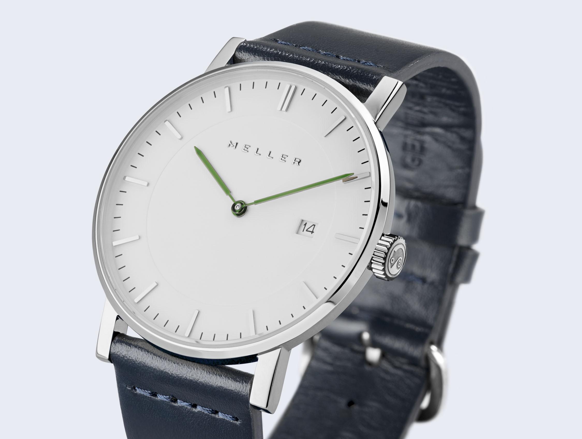 Reloj blanco marine