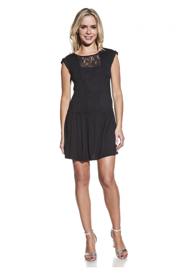 Vestido mini dress lace
